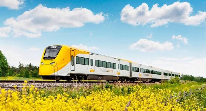 Cum merg europenii cu trenul la aeroport – În timp ce lângă București abia s-au făcut 3 km noi de cale ferată, alte orașe au linii ce permit și viteze de 160 km/h către aeroport – Industrie Feroviara