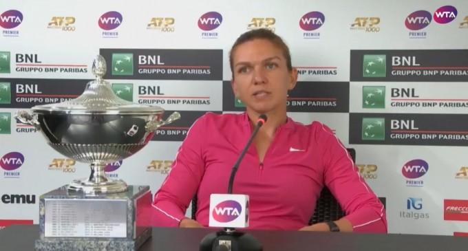 """VIDEO Simona Halep: """"Nu voi pune presiune pe mine la Roland Garros, voi merge acolo cu zâmbetul pe buze"""" – Tenis"""