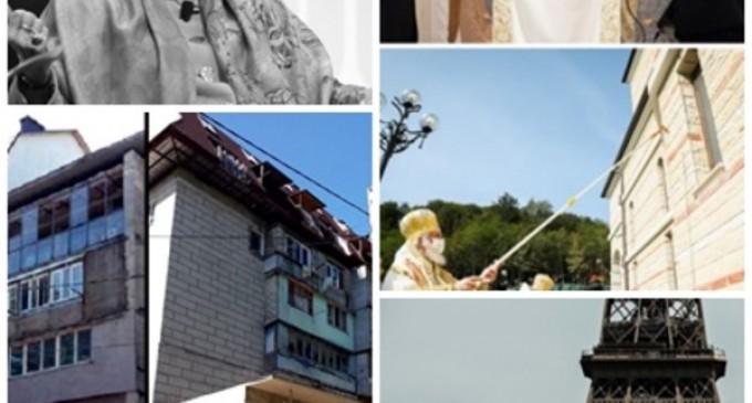 Subiectele zilei: Imagini cu iadul urbanistic din Chişinău: bordeie specifice satelor se lipesc de blocurile vechi; Patriarhul Daniel a stat într-un hotel de 5 stele, cu tot alaiul, apoi a făcut apel la credincioşi pentru donaţii; – Subiectele zilei