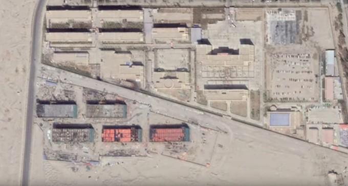 VIDEO China a construit aproape 400 de lagăre în provincia Xinjiang – imagini din satelit – International