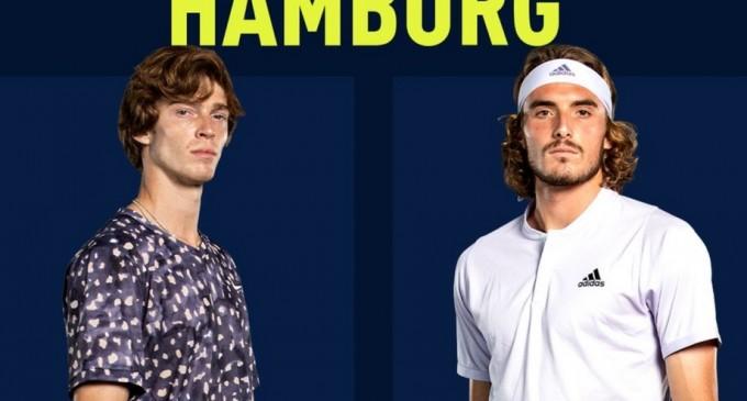 ATP Hamburg: Andrey Rublev și Stefanos Tsitsipas se vor duela pentru titlu – Tenis