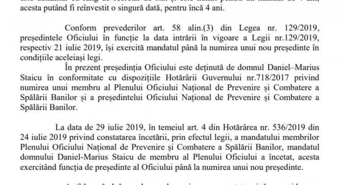 Citu care a girat numirea lui Baranga in functia de presedinte al ONPCSB ar trebui anchetat penal pentru semnare unui act oficial in acest sens!