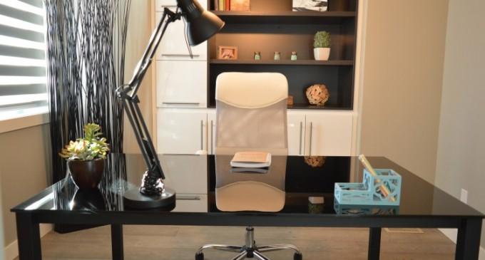 6 idei de iluminat pentru biroul de acasa