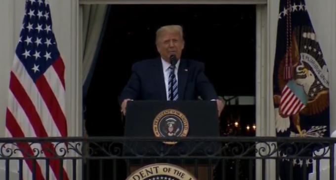 LIVEVIDEO Trump ține primul său eveniment public, de la ieșirea din spital: Mă simt minunat – International