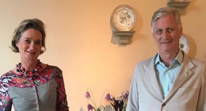 Belgia: Regele a întâlnit-o pentru prima dată pe fiica naturală a tatălui său – International