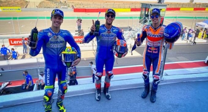 MotoGP: Alex Rins a câştigat Marele Premiu al Aragonului / Joan Mir, lider al clasamentului piloților – Motor