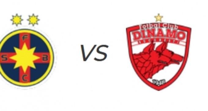LiveScore FCSB vs Dinamo / Echipele de start – Fotbal