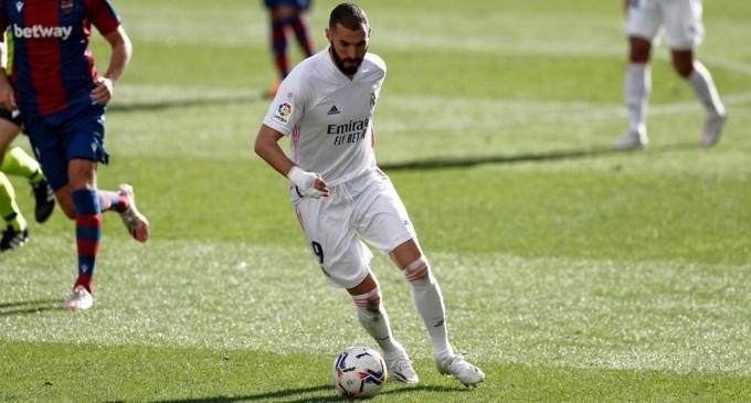 VIDEO Levante vs Real Madrid 0-2 / Echipa lui Zidane ocupă primul loc în clasament – Fotbal