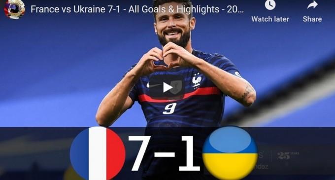 VIDEO Franța, recital contra Ucrainei: 7-1 (Rezultatele zilei în meciurile amicale)
