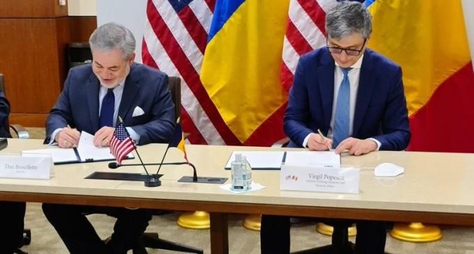 România a semnat acordul istoric cu SUA pentru construirea reactoarelor 3 și 4 de la Cernavodă – Energie