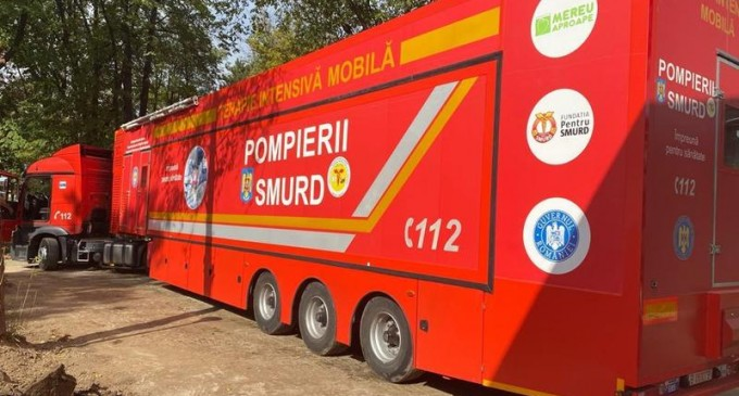 Unitate mobilă de terapie intensivă, trimisă la Timișoara – Coronavirus