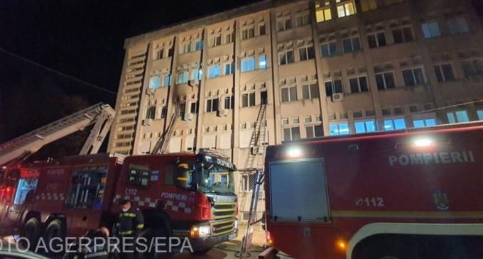 Presa străină relatează despre incendiul de la Spitalul din Piatra Neamţ – Subiectele zilei