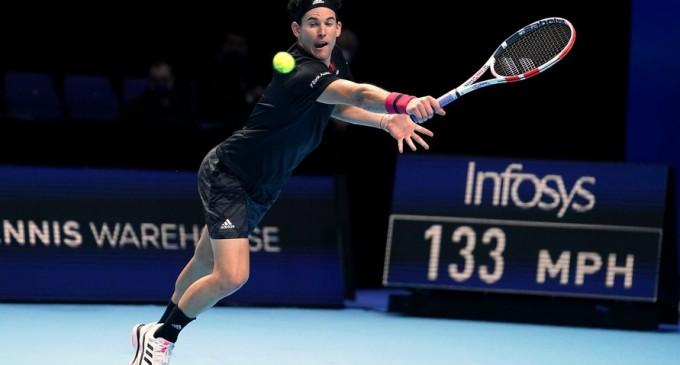 Turneul Campionilor: Dominic Thiem, debut cu victorie în fața lui Stefanos Tsitsipas – Tenis