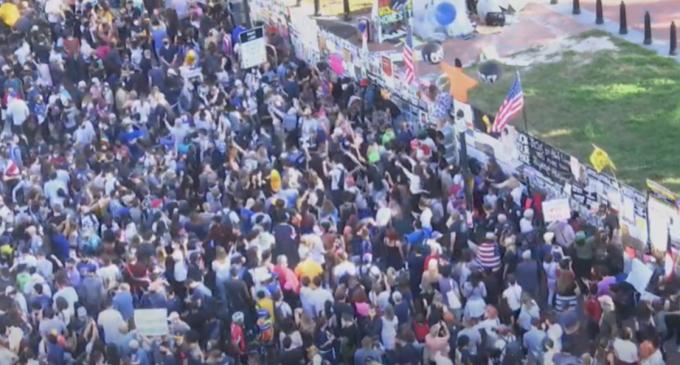 LIVEVIDEO Focuri de artificii, cântat în tomberoane și în oale: Fanii lui Biden sărbătoresc în stradă – Superputerile tehnologiei