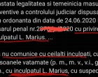 """NOAPTEA MINTII/Doar in """"Republica Ploiesti""""/Instanta confirma ordonanta procurorului ca inculpatul sa nu ia legatura cu el, insusi…."""