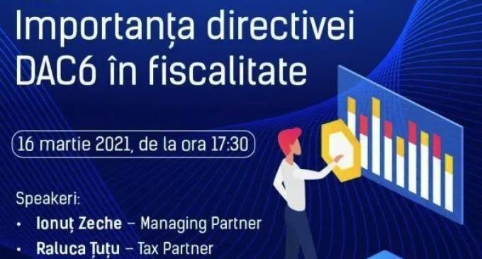 Mirus Group webinar – importanța Directivei DAC 6
