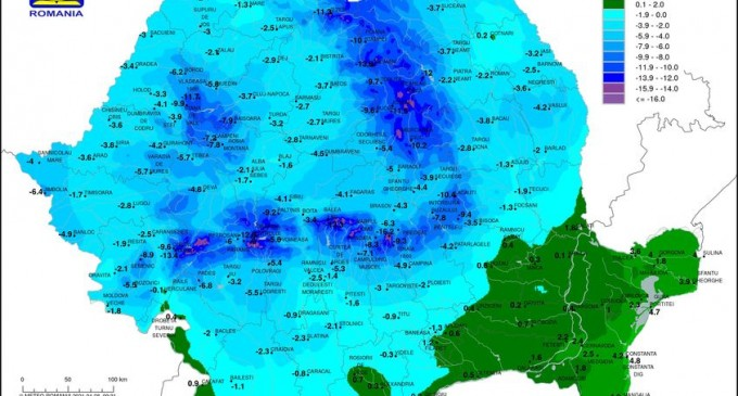 Europa și uimitorul val de frig din aprilie – Recorduri absolute în Elveția și Slovenia, ninsoare la Marea Adriatică, temperaturi de sub -10 grade în România – Terra