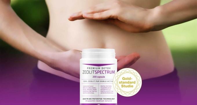Zeolit Spectrum reprezinta calea catre detoxifierea organismului tau