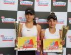 Eva Ionescu (simplu) și Andreea Komarov (dublu) au acces până în finalele Dr. Oetker Junior Trophy