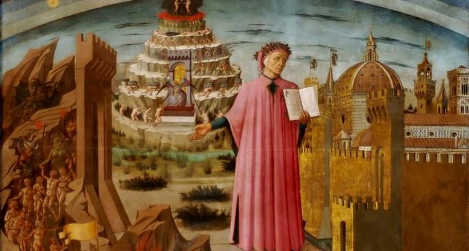 """""""Divina Comedie"""" a lui Alighieri va fi trimisă în spațiu: """"Iubirea care mişcă Soarele şi celelalte stele"""" – Cultura"""