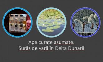 """""""Ape curate asumate"""" – Surâs de vară ȋn Delta Dunarii"""